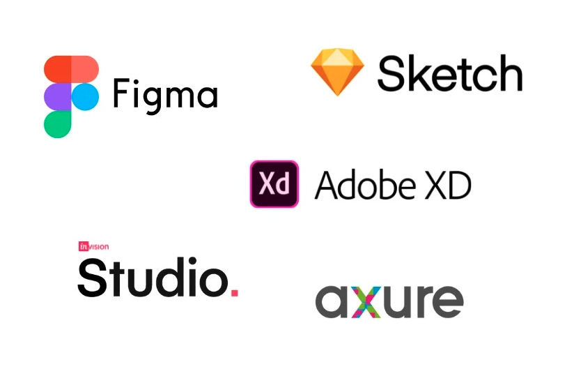 UX UI Tools and Software: Figma, Sketch, Adobe XD, InVision Studio, Axure