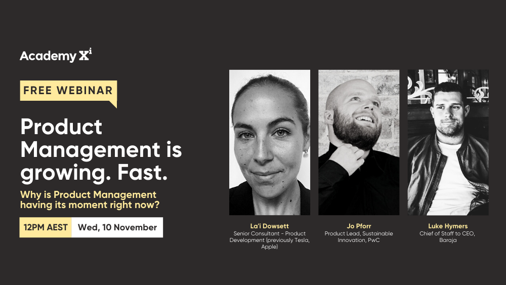 Webinar - November - Product Management is Growing. Fast.